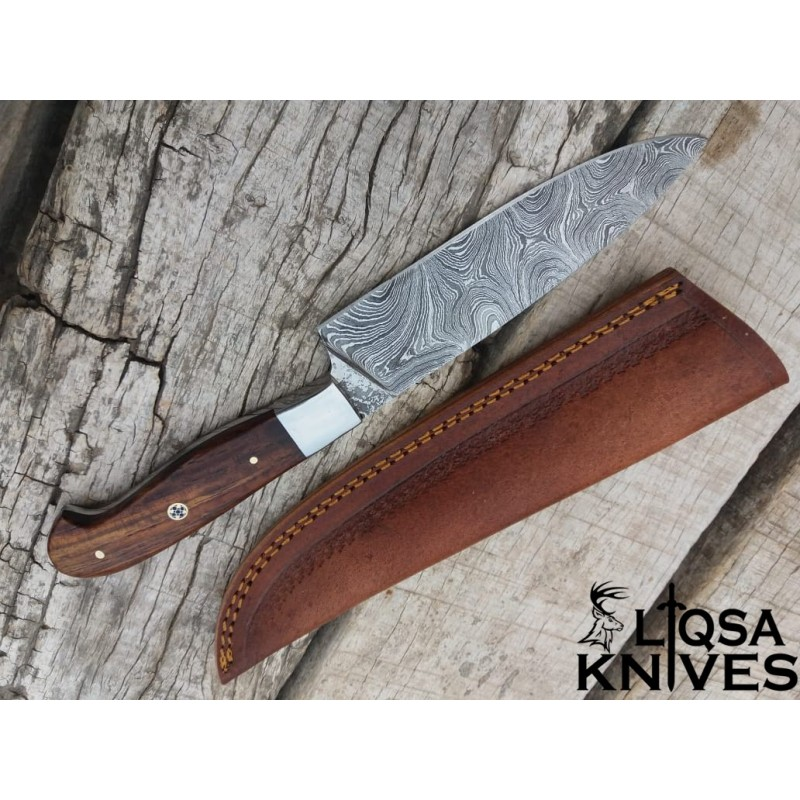 Damascus Steel Chef Knife LTC-022