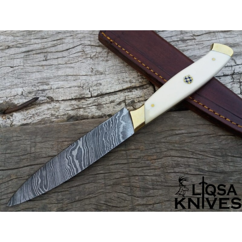 Damascus steel kitchen knife chef knife steak knife LTC-038