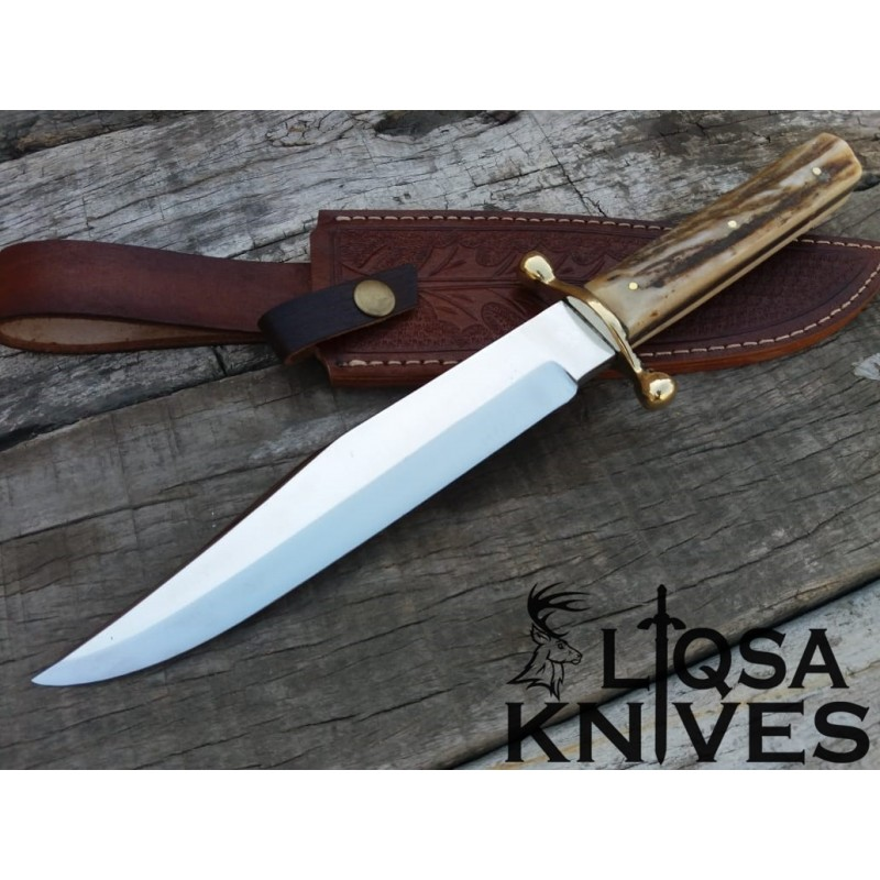420J2 steel custom made Bowie Knife LTS-004