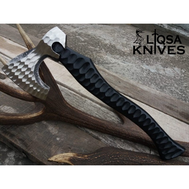 HIgh carbon steel vikings camping /outdoor axe LTX-093